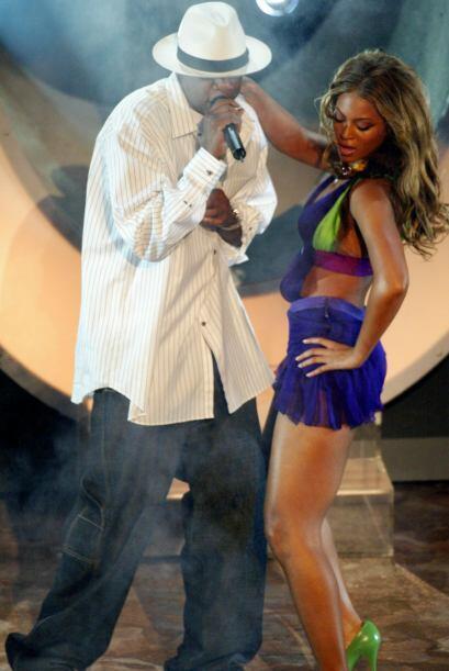 """""""Crazy in Love"""" tuvo la participación especial del rapero Jay-Z, quien e..."""