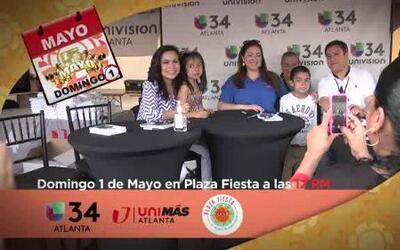 Festival 5 de Mayo con Univision 34 Atlanta