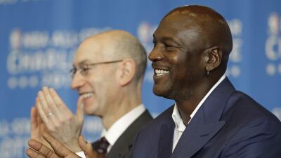 Michael Jordan prometió revivir el interés por la franquic...