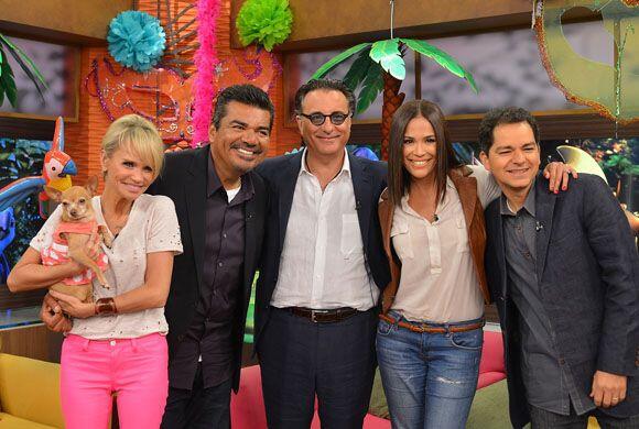 Los actores de Rio 2 se notaron felices de estar en el programa y eso re...