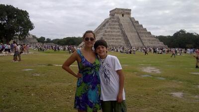 Nuestra corresponsal Verónica del Castillo compartió estas fotografías c...