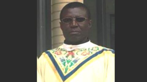 El padre Ephraim tiene 49 años y fue reportado como desaparecido...