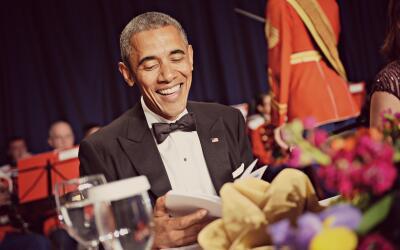 La última Cena de Corresponsales con  Barack Obama como anfitri&o...