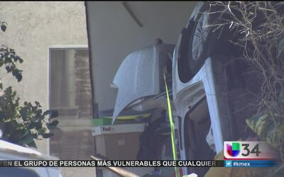 Balacera provoca aparatoso accidente en Boyle Heights