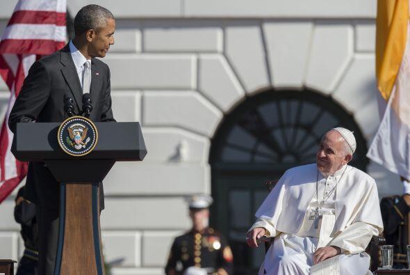 El discurso que dirigió Barack Obama para el Papa argentino.