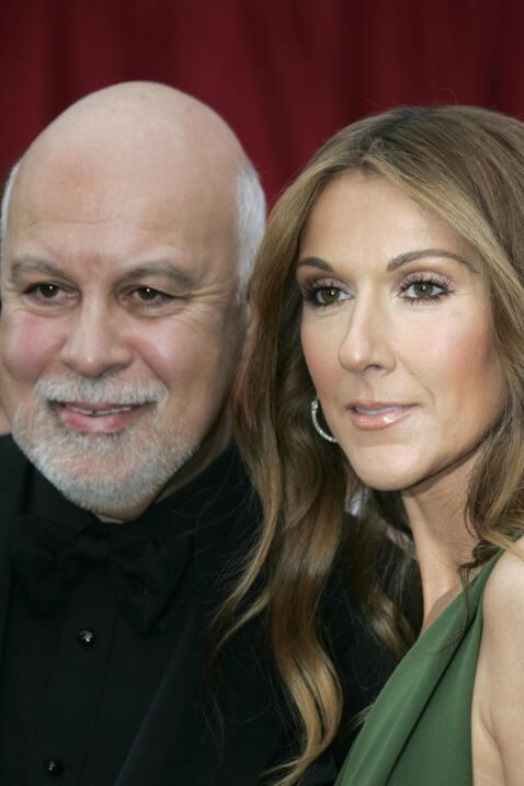 Celine Dion y René Angelil