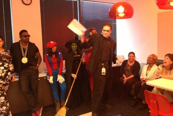 Boo! Celebramos Halloween en Univision 45
