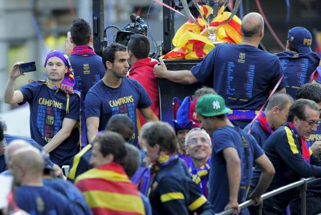 Una fiesta total la que se vivió en Barcelona, a falta de algunas jornad...