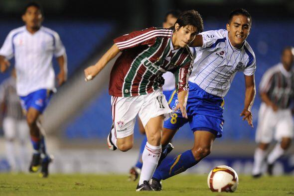 El mejor jugador de Fluminense y del torneo resultó ser el volante argen...