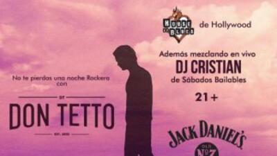 Don Tetto en concierto privado