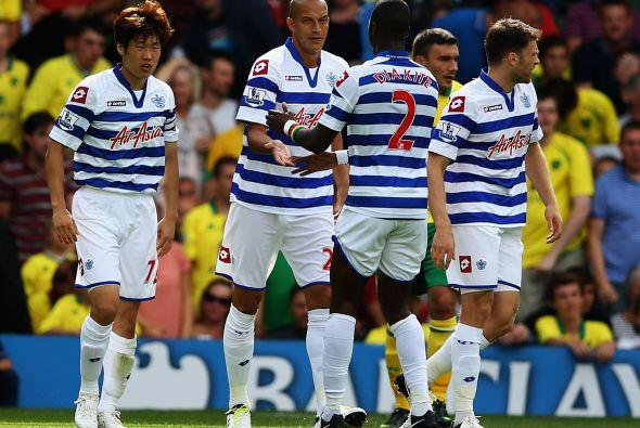 El ataque del QPR cuenta con Bobby Zamora, Djibril Cissé y Andrew...