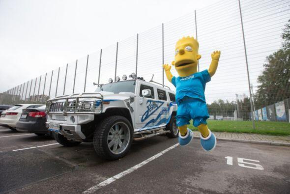 Bart ya entrenó con el equipo ruso.