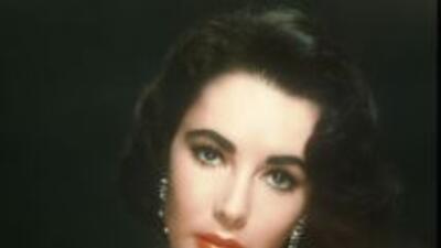 La diva Elizabeth Taylor.