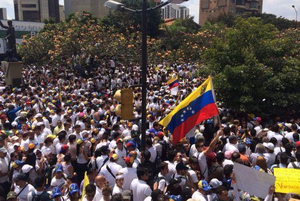 Este martes la jornada comenzó con las zonas más sensibles de Caracas to...