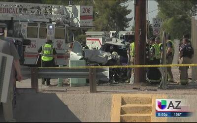 Accidente deja varios heridos en condición crítica