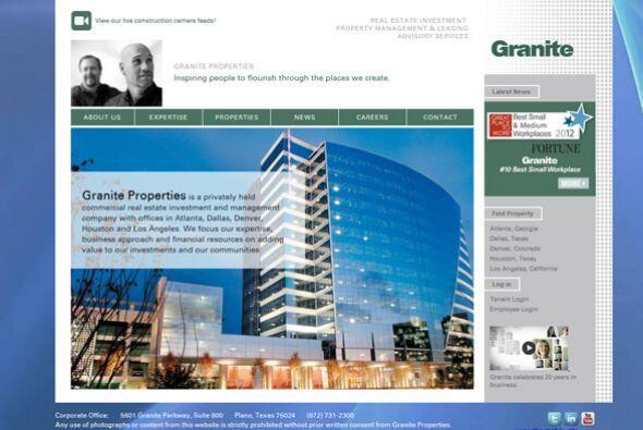 4. Granite Properties  Industria: Construcción y bienes raíces.  Número...