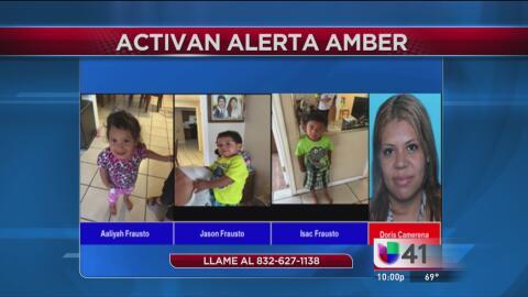 Buscan a una mujer y a tres niños desaparecidos en Texas