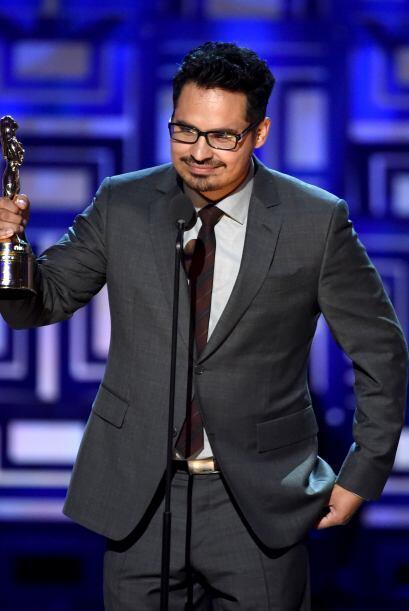 Michael Pena fue uno de los grandes ganadores de la noche. No tenía pala...