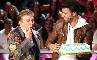 Jencarlos Canela celebró su cumpleaños