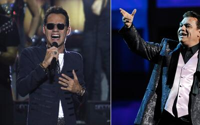 Marc Anthony interrumpió su concierto para dedicar unas palabras a Juan...