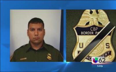 Funeral del agente fronterizo asesinado