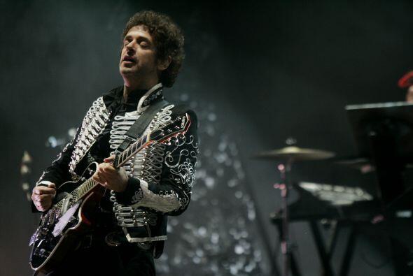 Este fue el último concierto que el argentino Gustavo Cerati ofre...