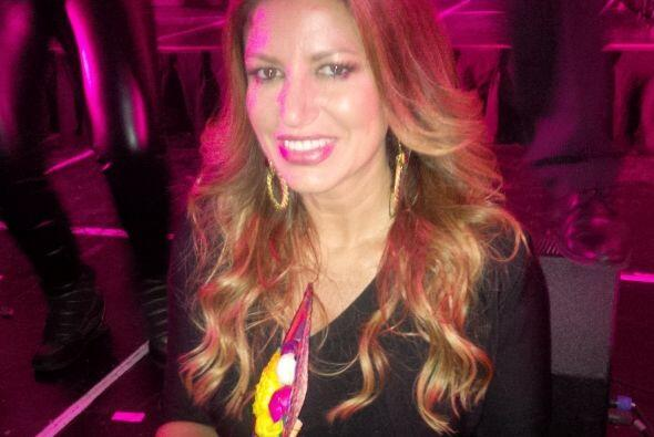 Paola Gutiérrez muy sonriente. ¿Será que ya detect&...