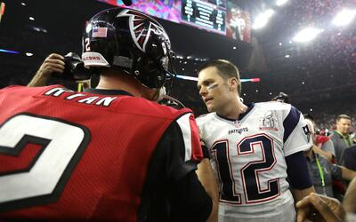 Falcons vs. Patriots, la revancha del Super Bowl en 2017