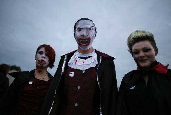 La reunión se dio en el Shocktober Fest, un tenebroso evento eb W...