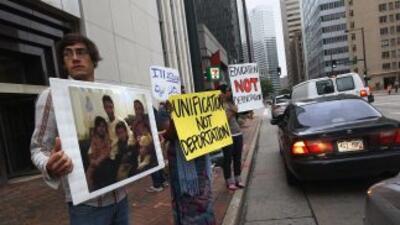 El dolor de la separación por las deportaciones es recurrente en muchas...