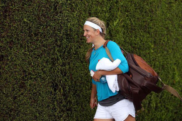 Una vez eliminada la principal favorita, Sharapova, la bielorrusa Victor...