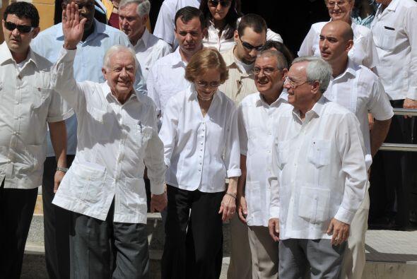En su primera visita a Cuba, en 2002, su anfitrión fue el líder comunist...