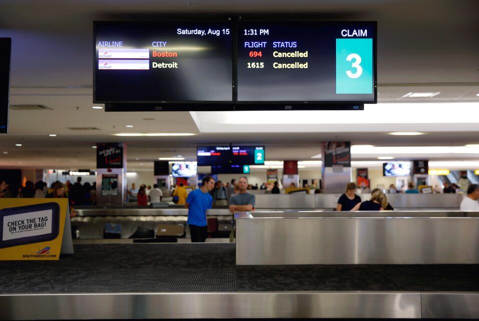 Retrasos aeropuerto