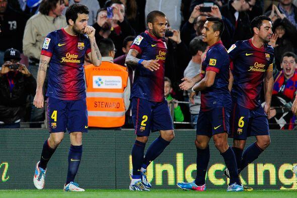 El Barcelona resolvía un partido que parecía destinado a u...