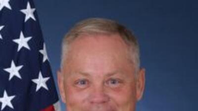 El coronel Glenn Palmer de la Fuerza Aérea de EEUU fue sustituido de su...