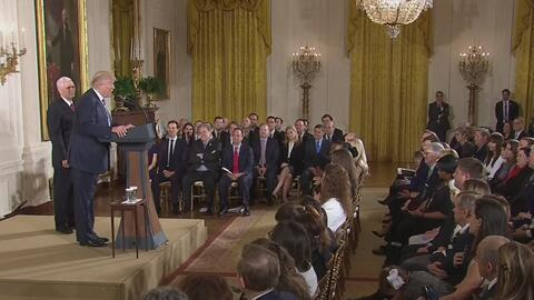 Estos son los funcionarios de la Casa Blanca juramentados por Donald Tru...
