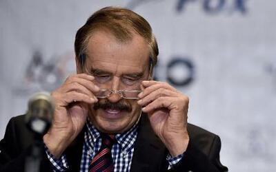 Vicente Fox se disculpa con Donald Trump