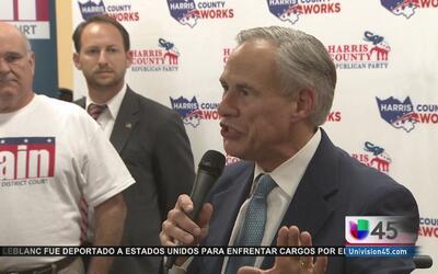 El gobernador de Texas afirma que el estado continuará siendo republicano