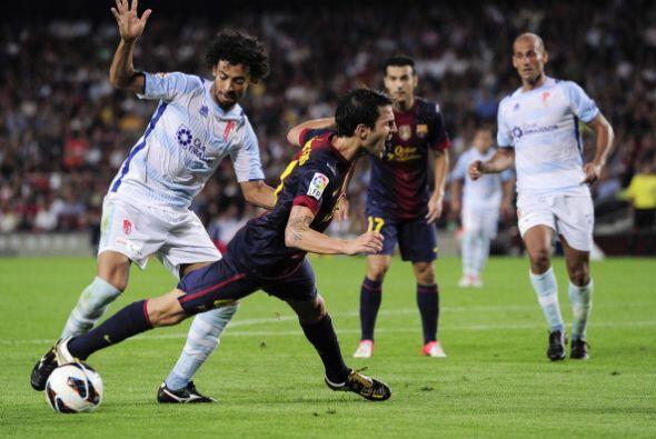 El Barcelona también lo intentó con caídas en el área, pero el árbitro n...