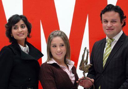 Paola Núñez, al igual que Adriana Fonseca y Sara Maldonado pusieron en a...