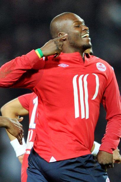 ¿Qué, tienes algo en el oído Moussa Sow? Ok, sólo festeja tu gol ante el...