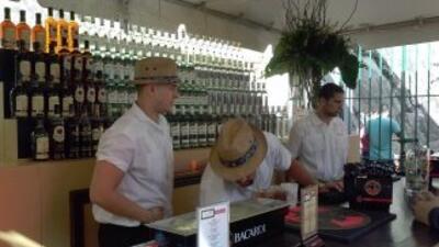 """En el """"Taste of Rum"""" hubo representación de marcas como Bacardí, Don Q,..."""