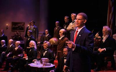 ¿Debe hablar la figura de Trump en el hall de los presidentes? Es...