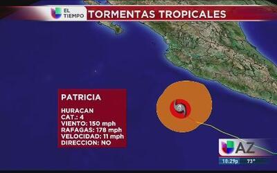 Patricia traerá lluvias