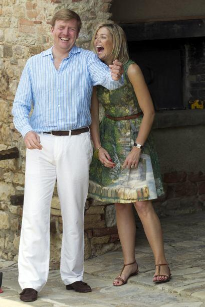La pareja es la más popular de la Familia Real holandesa, sobre t...