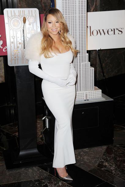 Mariah se presentó como parte de la tradición del Empire S...