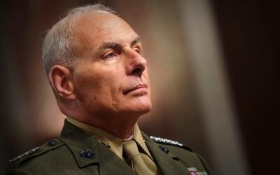 El marine retirado John F. Kelly, el elegido de Donald Trump para el dep...