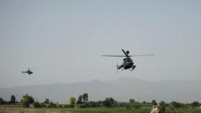 Las tropas se encontraban en una misión en el distrito de Shah Wali Kot...