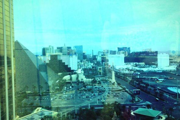 ¿Qué tal la vista que compartió Ana a su llegada a Las Vegas?