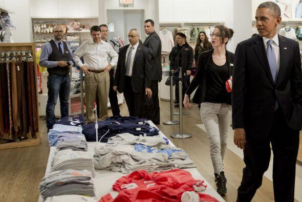 Obama, quien viajó a dicha ciudad para participar en dos eventos de reca...